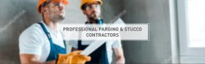 Professional Contractors for stucco and parging services (repair and installation)