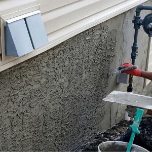 parging a foundation
